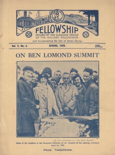 Ben Lomond summit