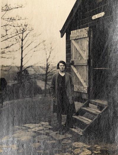 CHAPTER 2 photo 2 Mattie Thompson at TAL-Stone Hut 1929