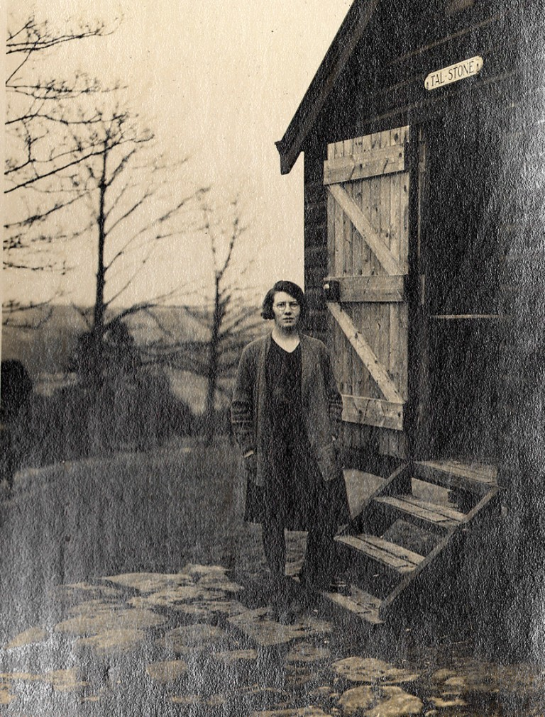 CHAPTER 2 photo 2 Mattie Thompson at TAL-Stone Hut 1929