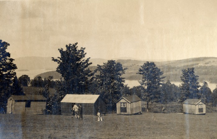 Chapter 2 photo 1 Drumkinnon Camp late 1920's