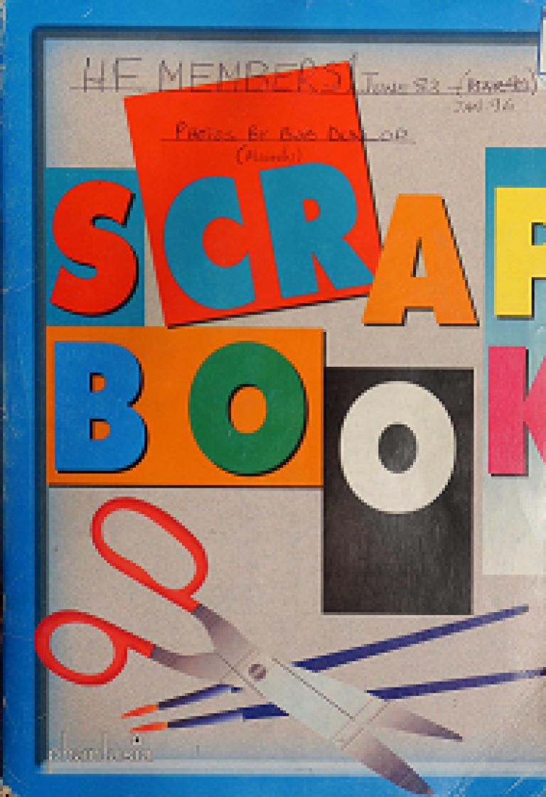 Bob Dunlop scrap book (Jun 83-Jan 96)